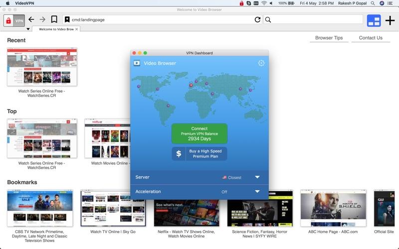 Video VPN Screenshot - 3