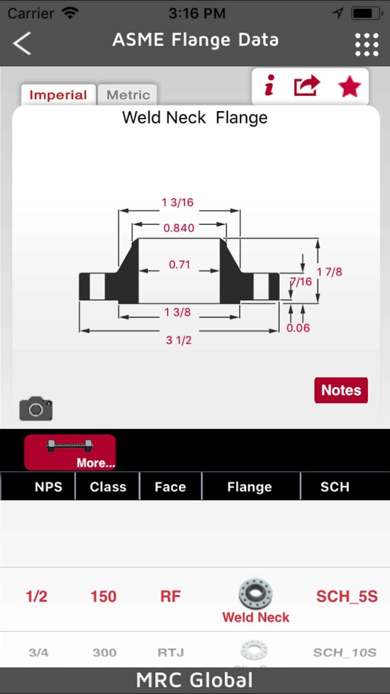 MRC Global PVF Mobile Handbook Screenshot