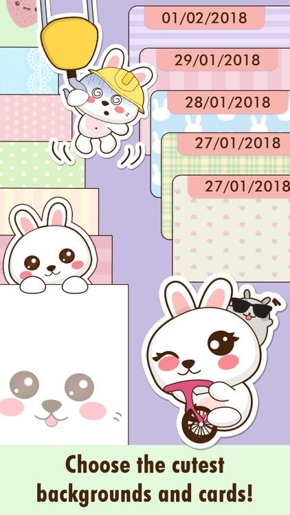 Niki: Cute Diary App screenshot-3