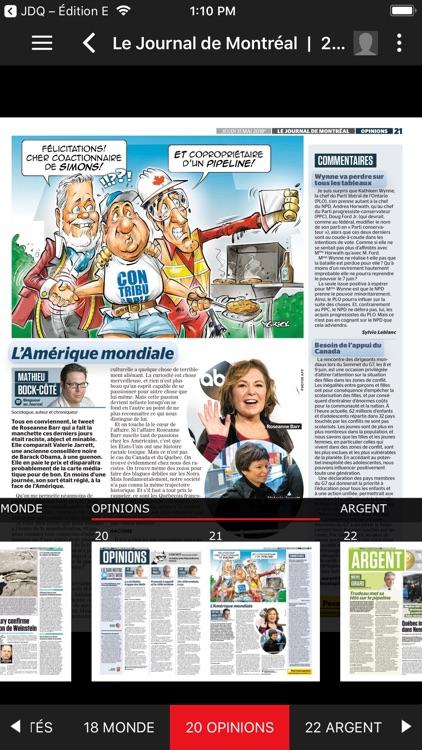 Journal de Montréal – EÉdition screenshot-6