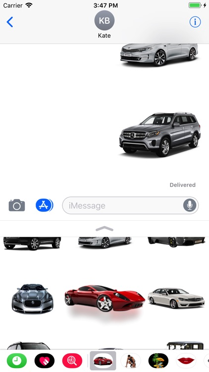 Cars Collection Stickers screenshot-3