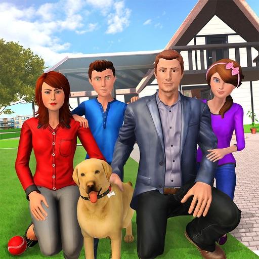 виртуальный жизнь семья имитат