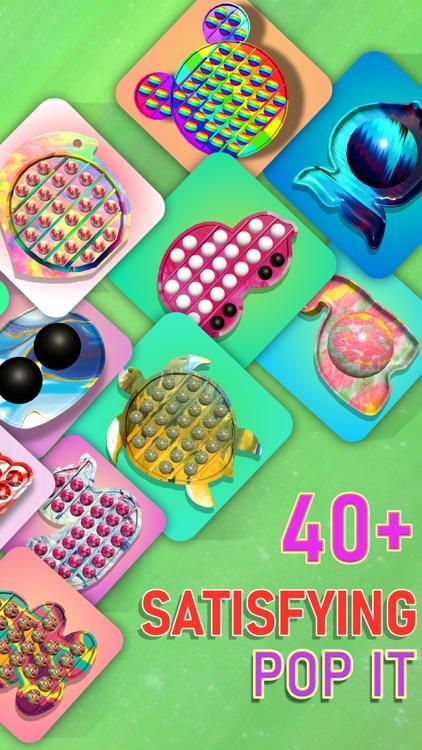 Pop it Fidget Toy 2! DIY ASMR