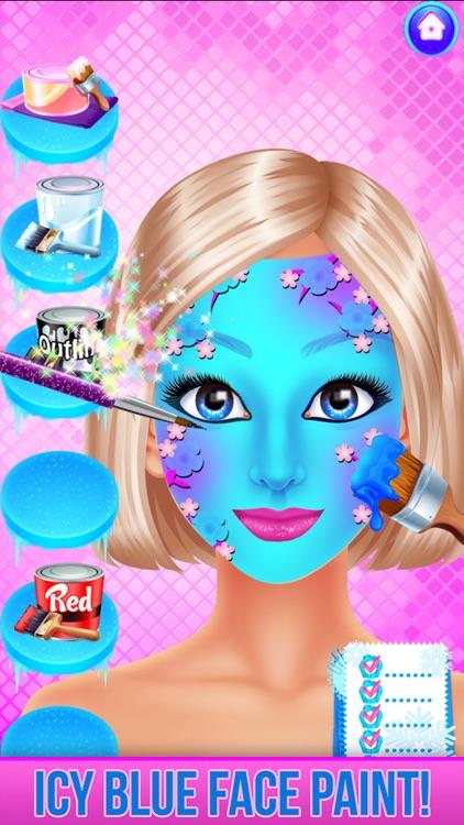 Ice Princess Face Paint Salon screenshot-5