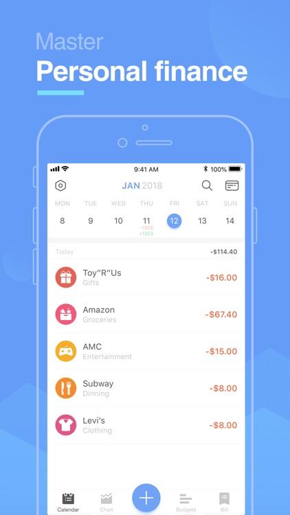 Pocket Expense Lite screenshot-0