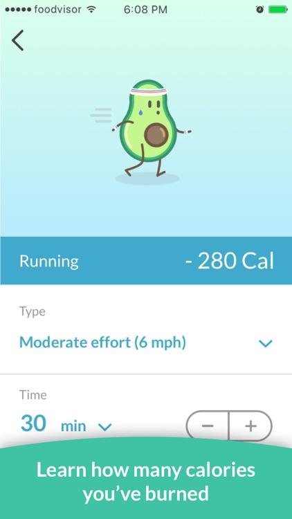 Foodvisor - Calorie Counter screenshot-4