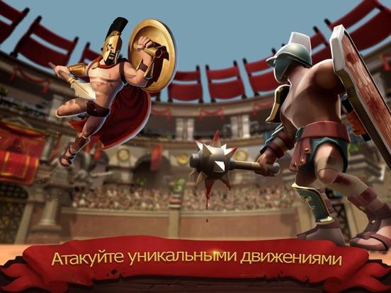 Gladiator Heroes доблестный бо на iPad