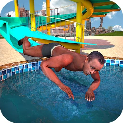 Water Slide Sim Games 2018