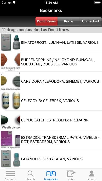 Top 300 Pharmacy Drug Cards 18 screenshot-8