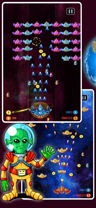 Space Shooter Galaxy Attack - Online Game Hack and Cheat