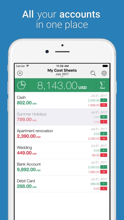 Cost Track - Expense Tracker