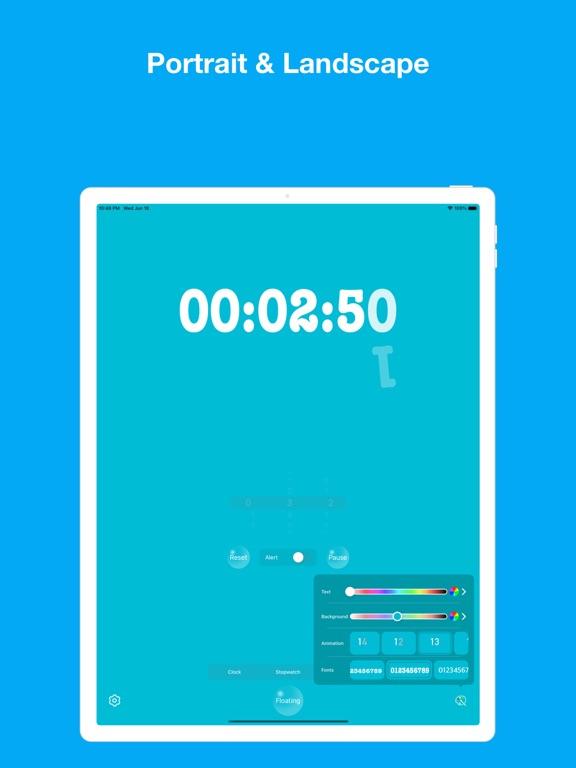 Floating Clock-浮く時計&ウィジェットのおすすめ画像8