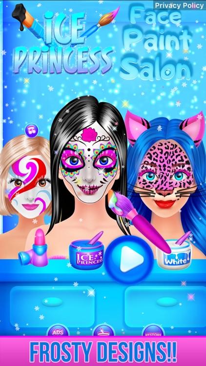 Ice Princess Face Paint Salon screenshot-3