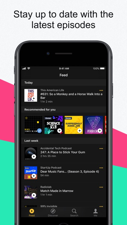 Acast - Podcast Player
