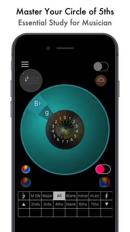 Circle of 5ths, 5th Edition screenshot-0