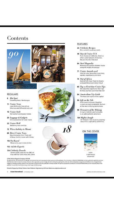 Cruise International Magazine Screenshot