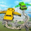 Flying Chain Car Air Wings