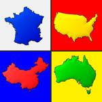 Cartes de tous les pays - Quiz на пк