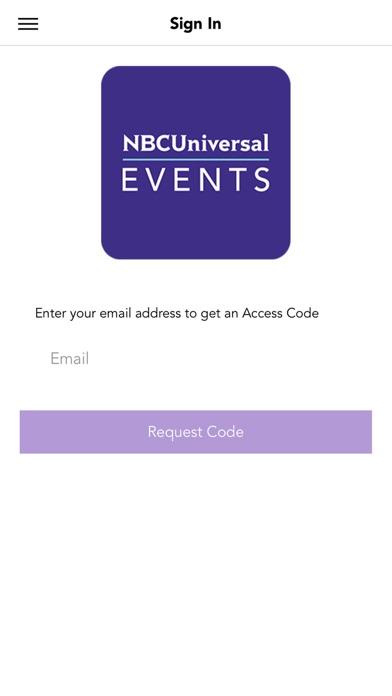 NBCUniversal Events screenshot 1