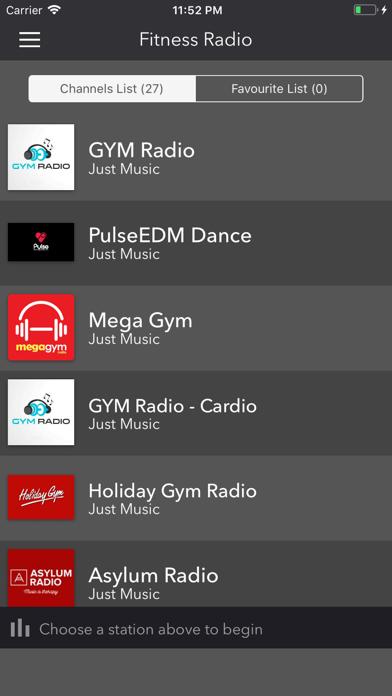 Fitness Radio- Live Workout FM screenshot one