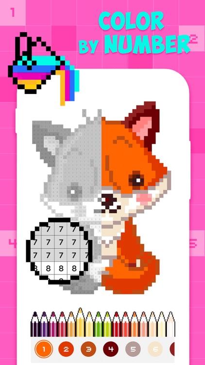 PixPaint - Number Coloring
