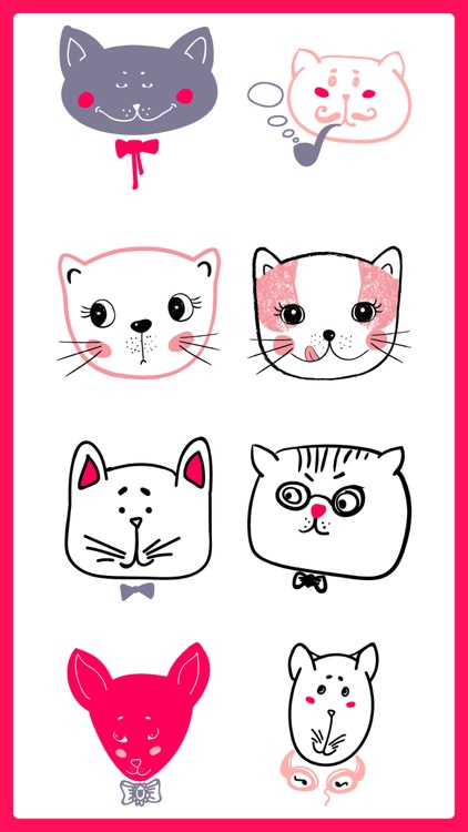 Purrrfect Cats for Texting App