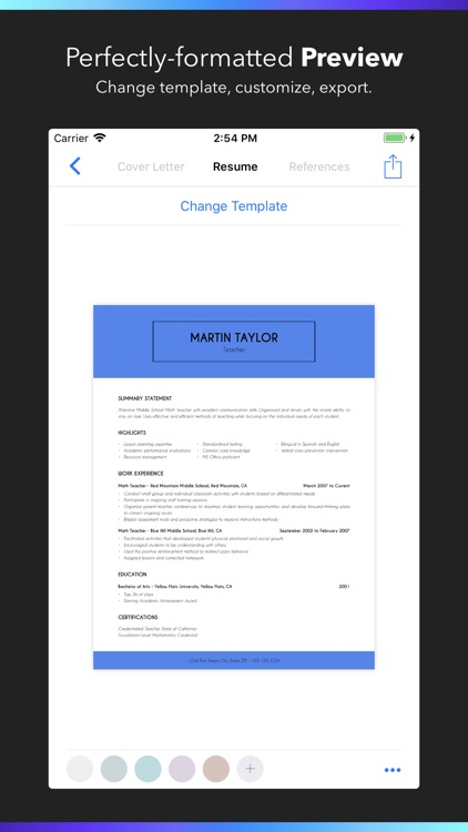 resume builder by nobody by nobody llc