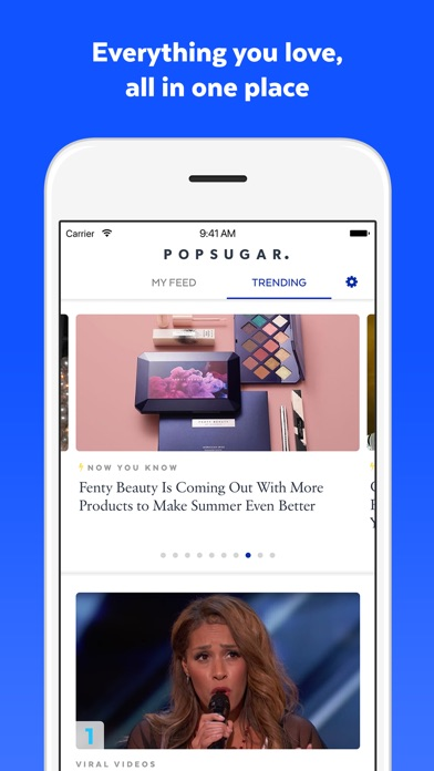 Popsugar review screenshots