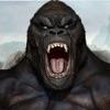 生气的 大猩猩 大脚 怪物