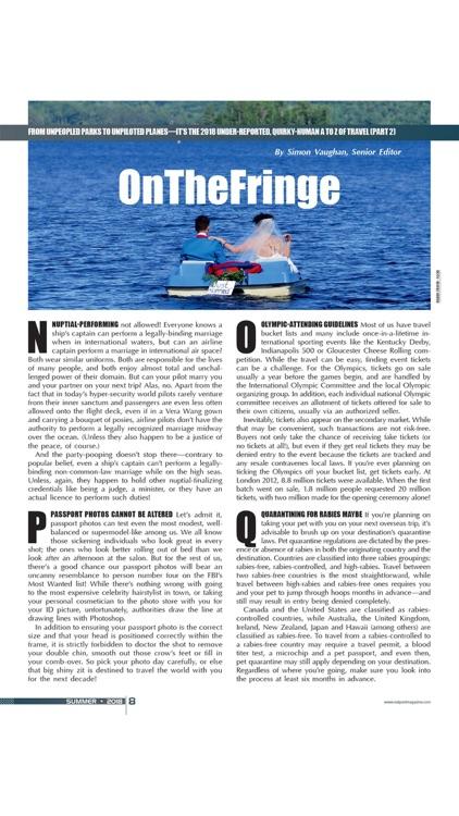 Outpost Magazine.