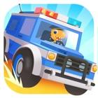 恐龙警车 - 赛车儿童游戏 icon