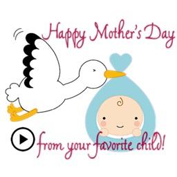 Animated Lovely Child Sticker