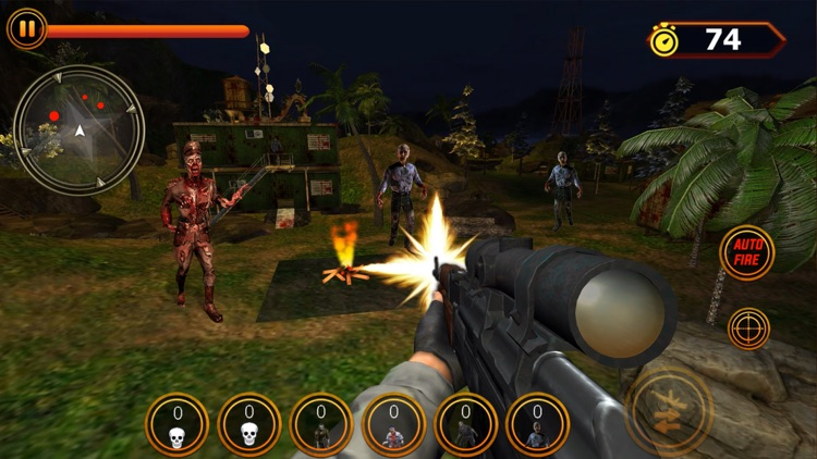 Zombie Squad FPS Sniper Hunter screenshot-3