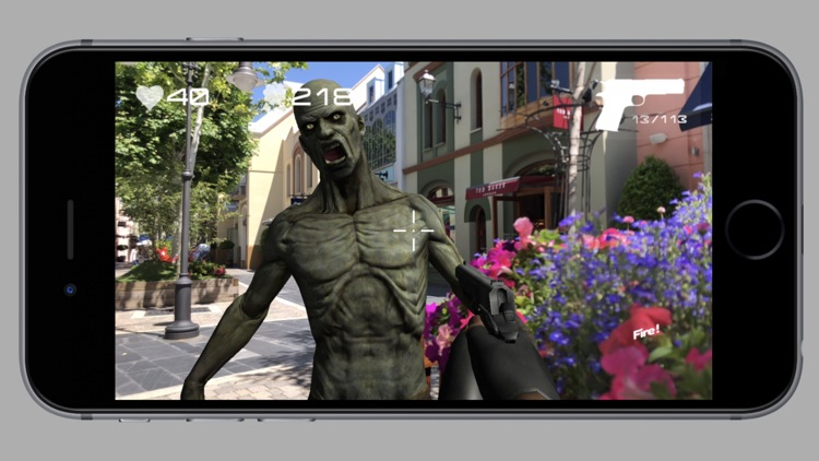 Zombie Attack AR In Reality