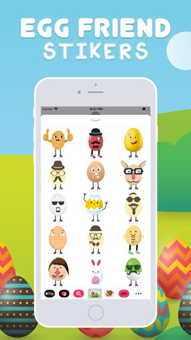 Egg Friend Stickers screenshot three