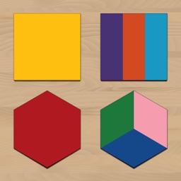 Learn Shapes! Montessori Box