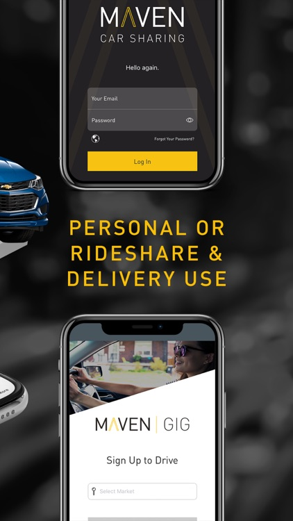Maven – Car sharing