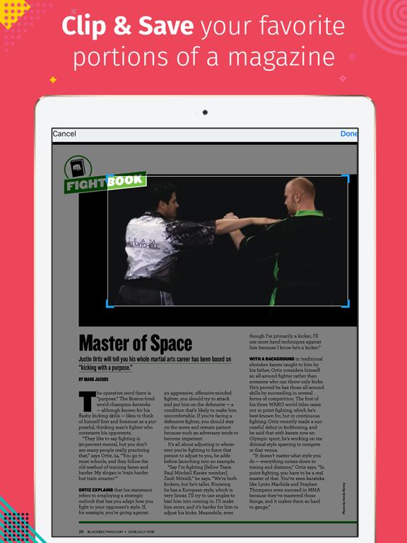 Black Belt (Magazine) screenshot 6