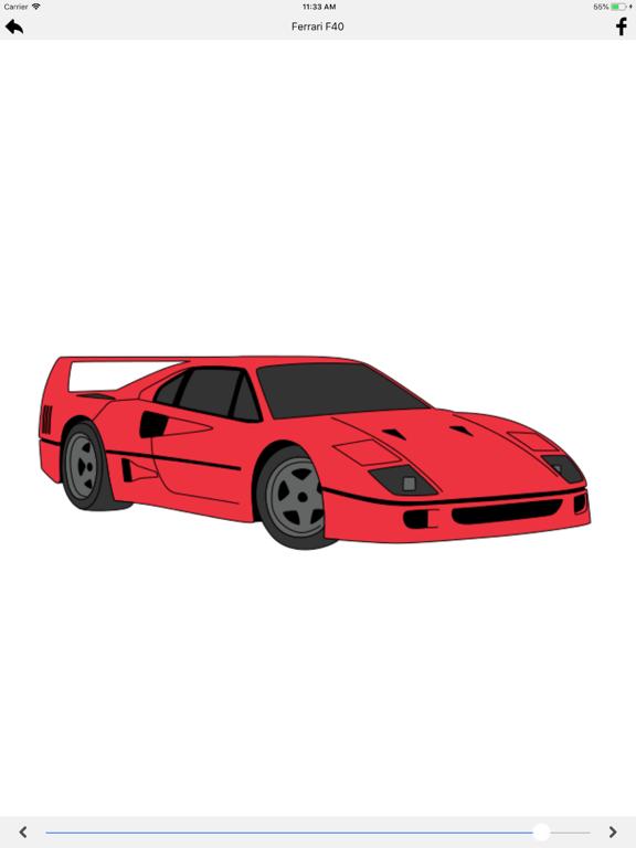 Draw Sport and Retro Cars screenshot 8