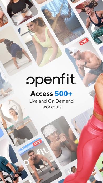 Openfit - Fitness & Nutrition Screenshot