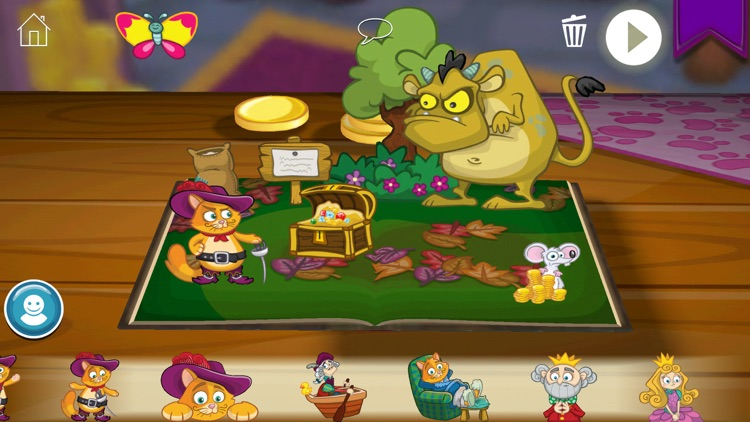 StoryToys Puss in Boots screenshot-4