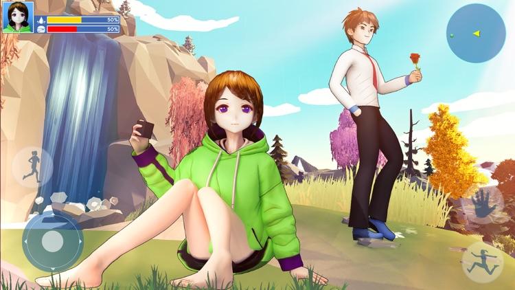 Anime Girl: Yandere Life Sim