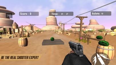 Real Gun Shoot - Fruit Target screenshot 2