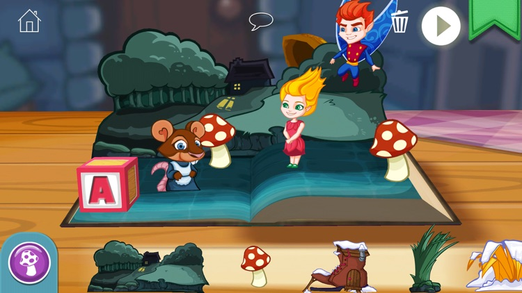 StoryToys Thumbelina screenshot-4