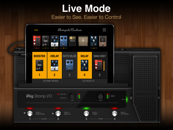 Screenshot #6 pour AmpliTube Slash for iPad