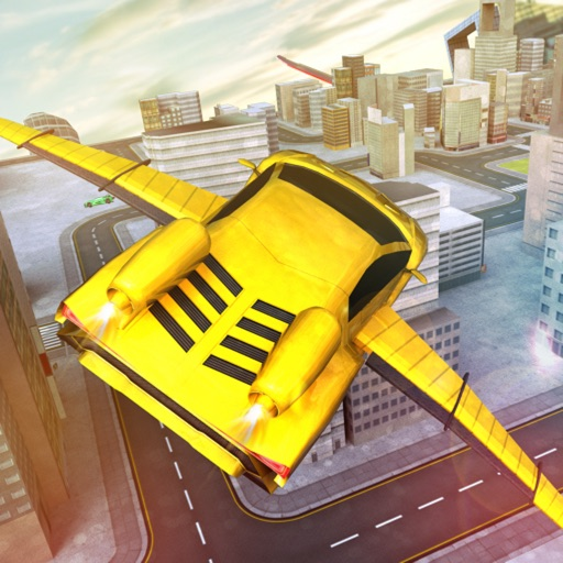 Download Ultimate Flying Car Adventures free for iPhone, iPod and iPad
