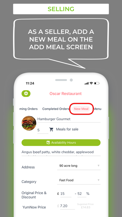 YumNow screenshot four