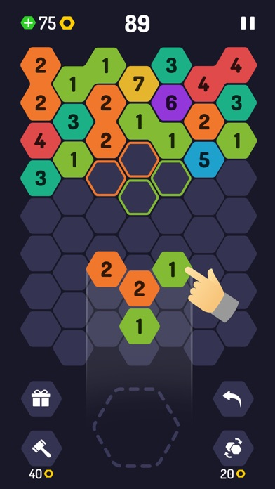 UP 9 - Hexa Puzzle! screenshot 2