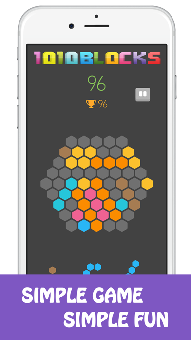 Block 1010 Puzzle Game screenshot 3
