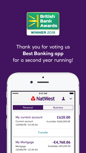 Natwest mobile banking on the app store screenshots reheart Image collections